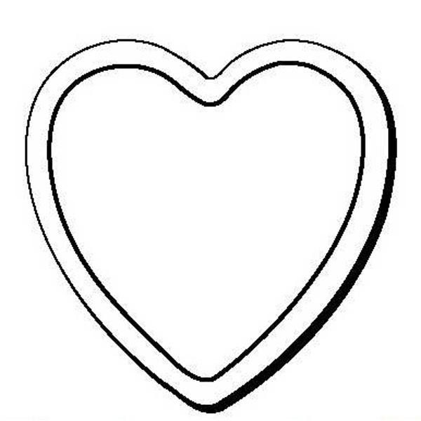 Heart Stock Shape Magnet