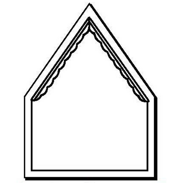 House Stock Shape Magnet
