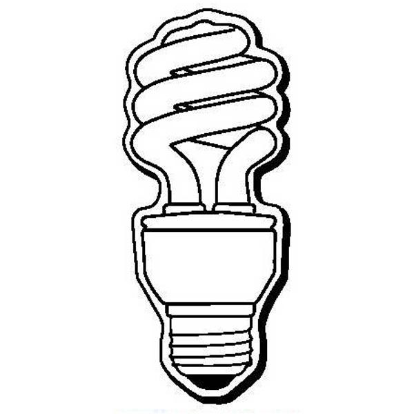 Lightbulb Stock Shape Magnet