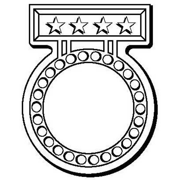 Medal Stock Shape Magnet