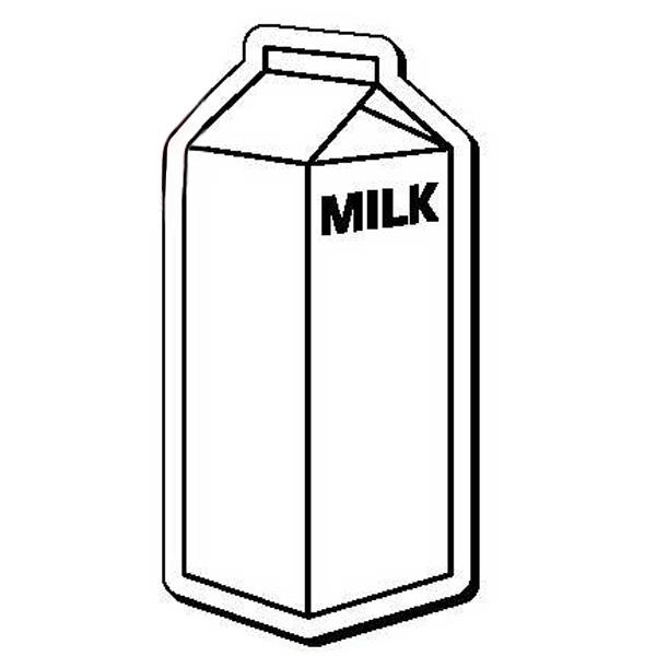 Milk Carton Stock Shape Magnet