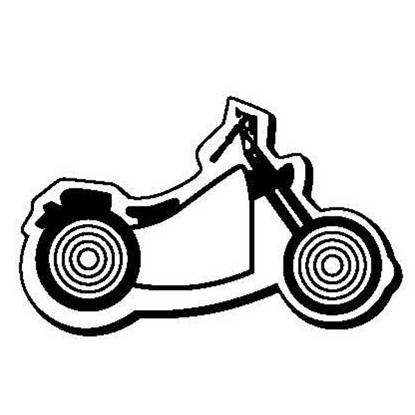 Motorcycle Stock Shape Magnet