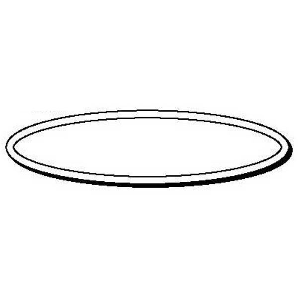 Oval Stock Shape Magnet
