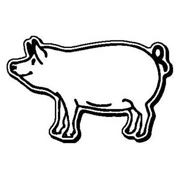 Pig Shape Magnet