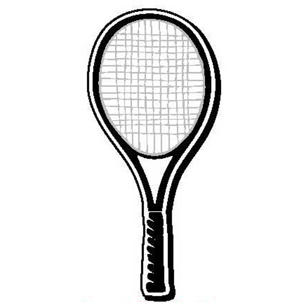 Racket Shape Magnet