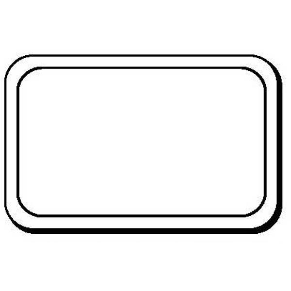 Round Corner Rectangle Shape Magnet