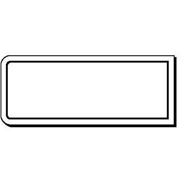 Unique Rectangle Stock Shape Magnet