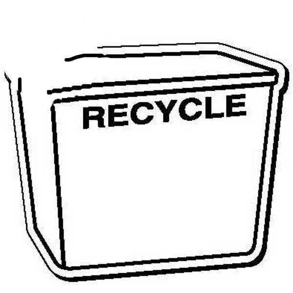 Recycle Bin Shape Magnet