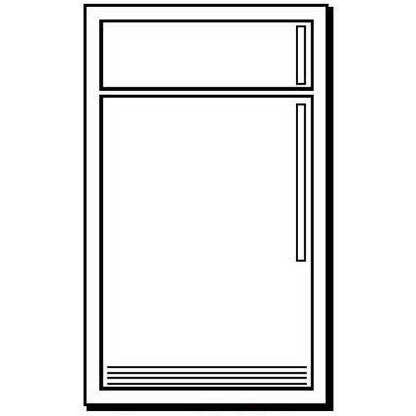 Refrigerator Shape Magnet