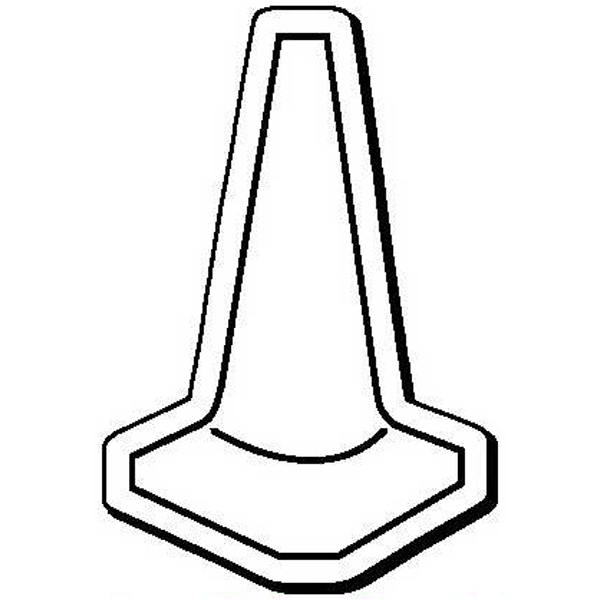Safety Cone Shape Magnet