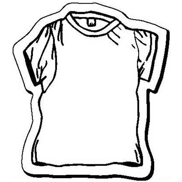 T-Shirt Stock Shape Magnet