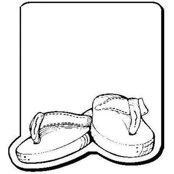 Flip Flops Shape Magnet