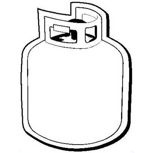 Propane Tank Shape Magnet