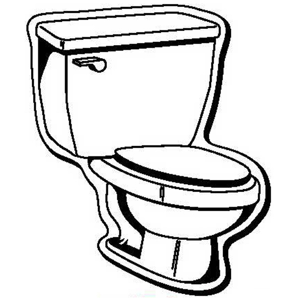Toilet Shape Magnet