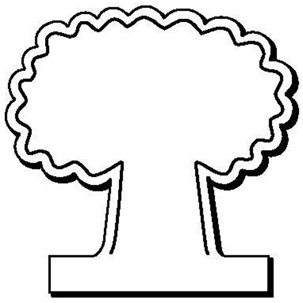 Tree Stock Shape Magnet