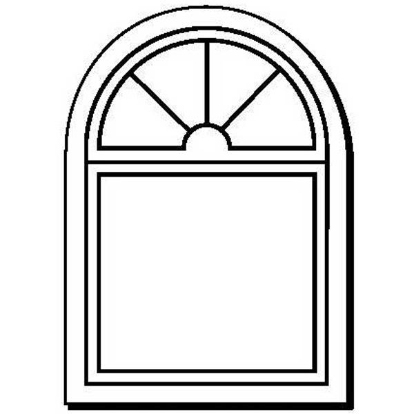 Window Stock Shape Magnet