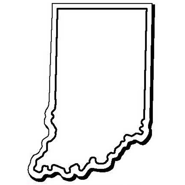 Indiana Stock Shape State Magnet