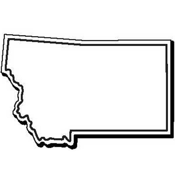 Montana Stock Shape State Magnet