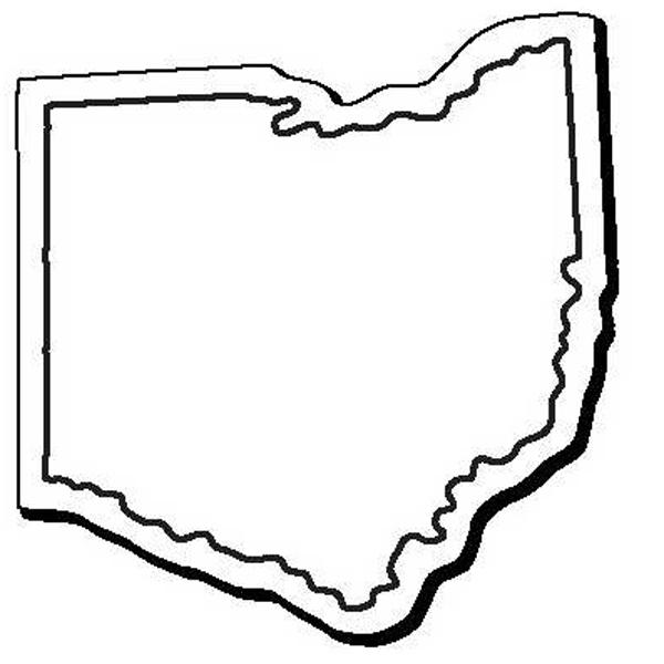 Ohio Stock Shape State Magnet