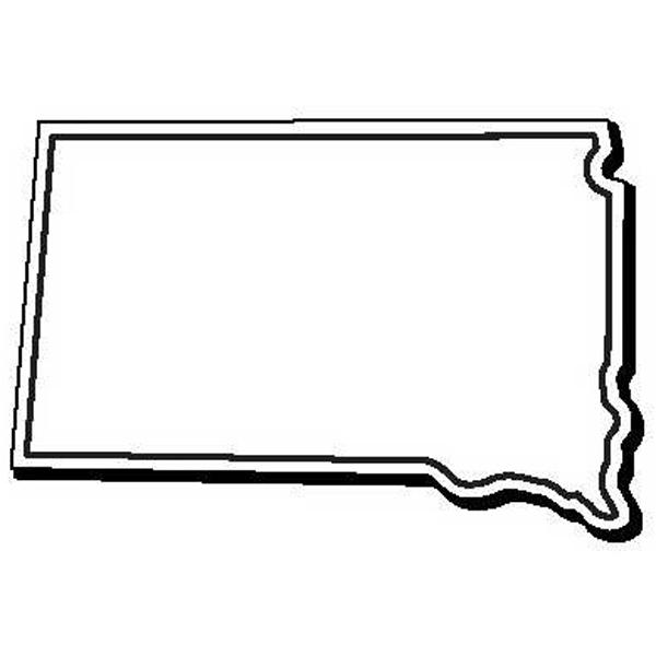 South Dakota Stock Shape State Magnet