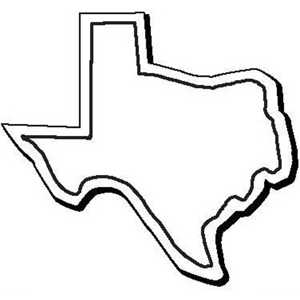 Texas Stock Shape State Magnet