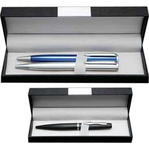 Black Presentation Box, Holds 2 Pens Photo