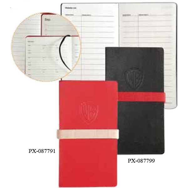 Prologue - Red Slim Pocket Journal With 192 Top Quality Ivory Writing Pages Photo