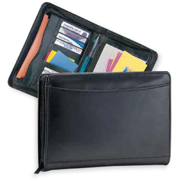 Pro Designer - Junior Portfolio With Ruled Notepad And Zipper Closure Photo