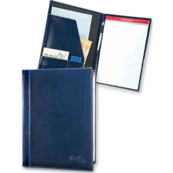 Portland - Padfolio Non Zippered With Straight Even Spine With Radius Corners Photo