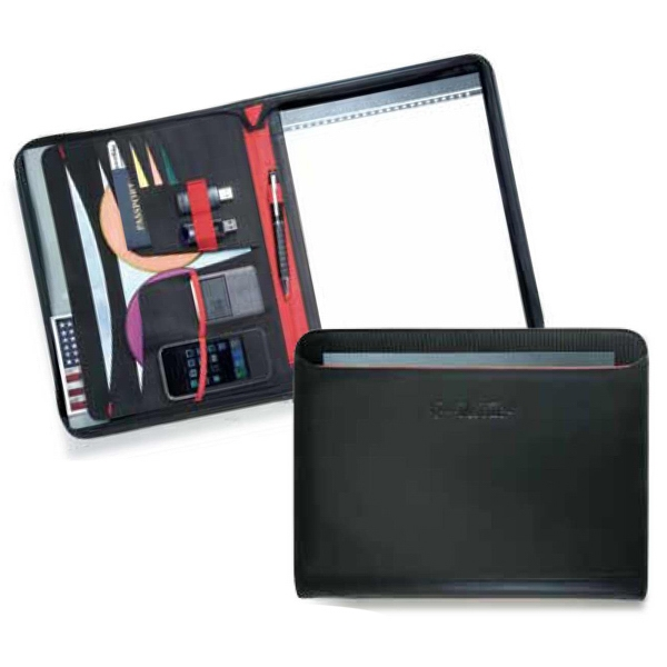 Matrix - Zippered Pad Folio With Exterior Pocket Photo