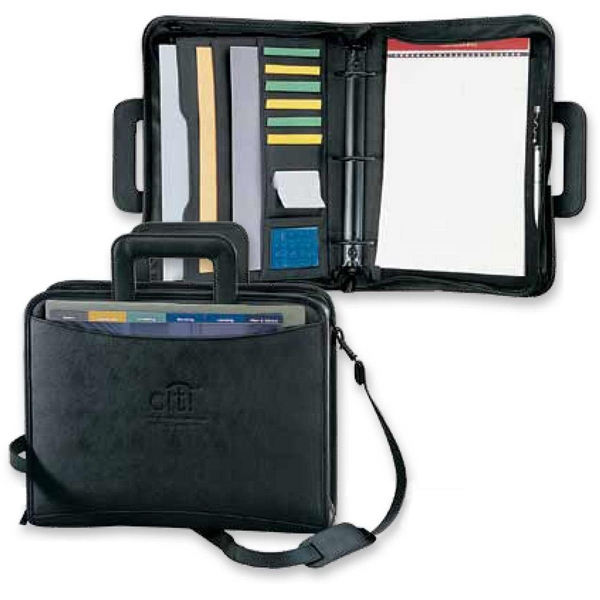 Classic - Jumbo 3-ring Portfolio With Removable Padded Shoulder Strap Photo