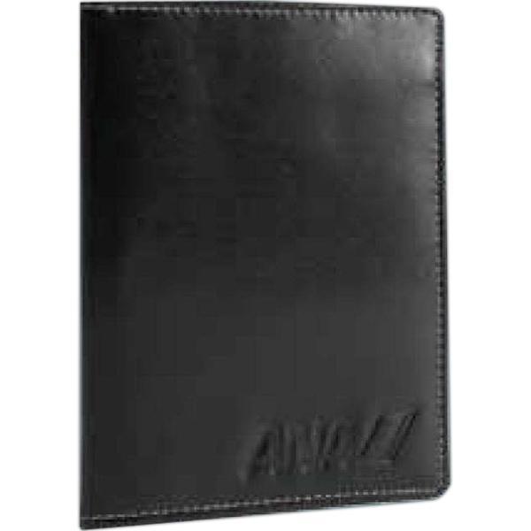 Atlantis - Black Leather Passport Wallet Photo