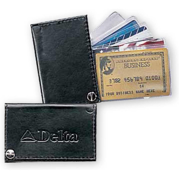 Atlantis - Cowhide Leather Fan Out Card/photo Case Photo