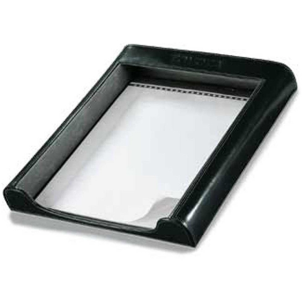 Atlantis - Black Leather Desktop Tray Photo