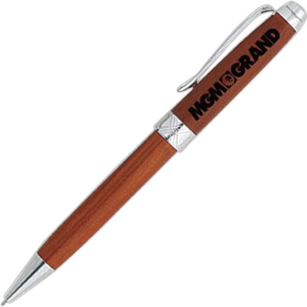 Wood Twist Action Mechanical Pencil