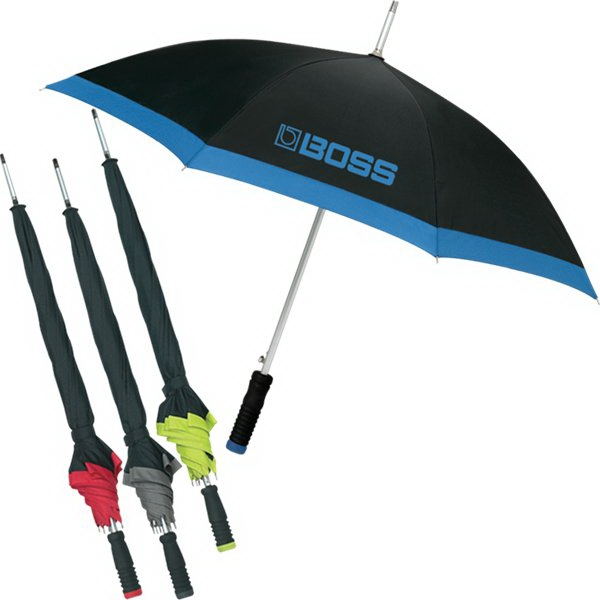 "Trimline - This 8 Panel, 46"" Umbrella Is Constructed Of Pongee Material Photo"