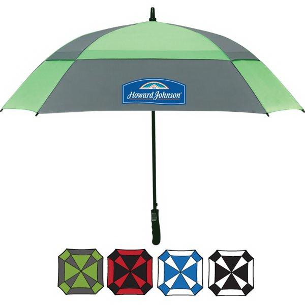 """60"""" Square Golf Umbrella"""