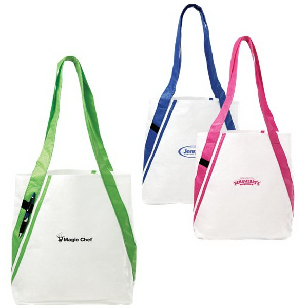 "Dot - Shoulder Tote With 12"" Drop Handle Height Photo"