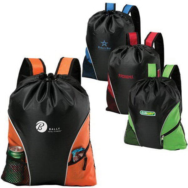 Cyclone - Cinch/backpack Made Of 210 Denier Polyester Photo