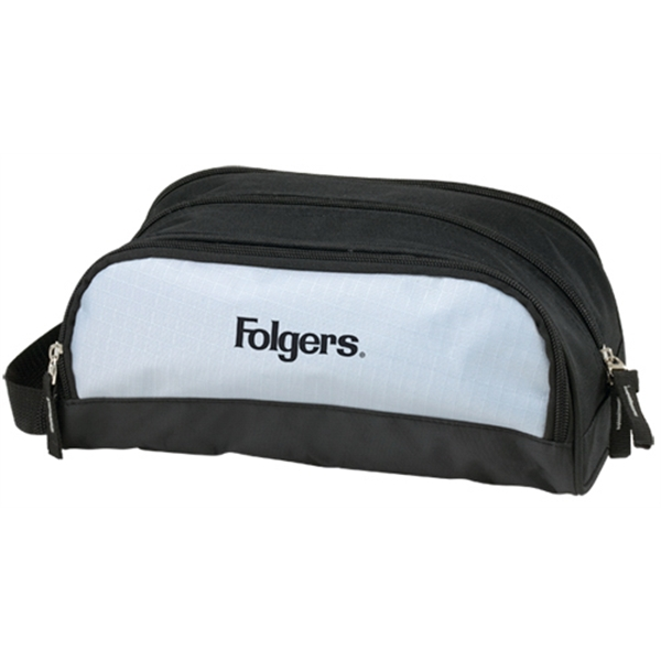 Overnight Toiletry Bag Made Out Of 600 Denier Polyester And Mesh Ripstop Nylon Photo