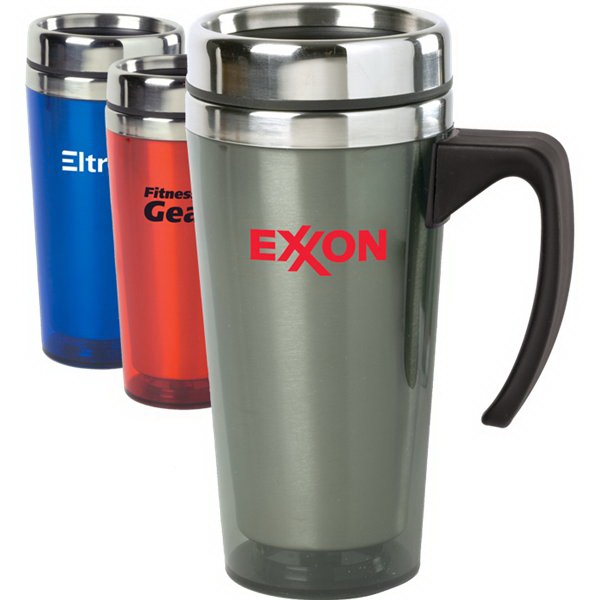Color Stainless Steel 15 Oz Travel Mug Photo