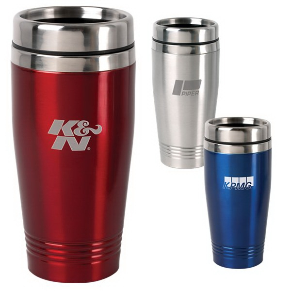 Stainless Steel 15 Oz Tumbler With Non-skid Bottom Photo