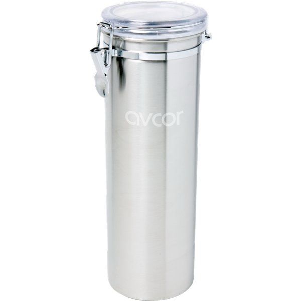 Homestyles (tm) Snaplock - Stainless Steel Utensil Canister With 5 Nylon Utensils Photo