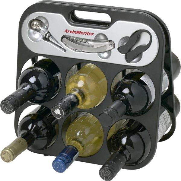 Collapsible wine rack