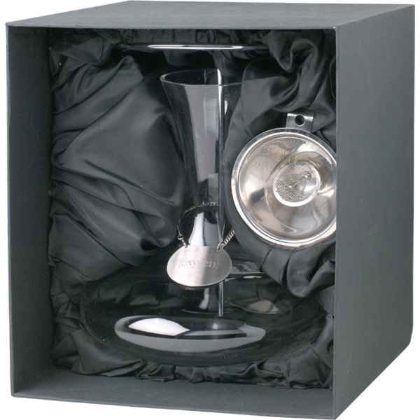 Homestyles (tm) - Decanter Set With Slanted Spout On The Funnel Photo