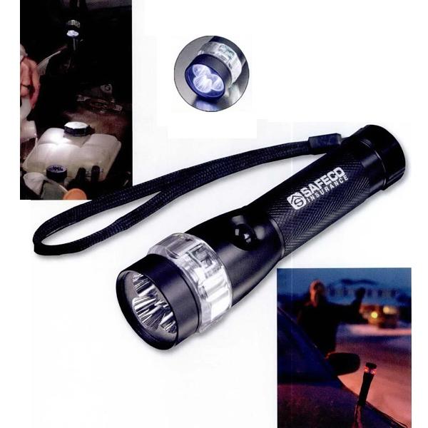 Emergency Roadside Flashlight (3 LED)