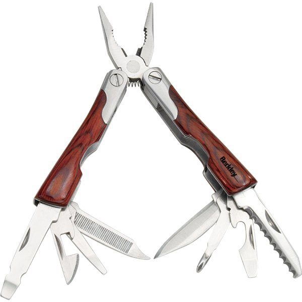 Tool Zone (tm) - Mini Wood Multi-tool With Pliers, Phillips Screwdriver And More Photo