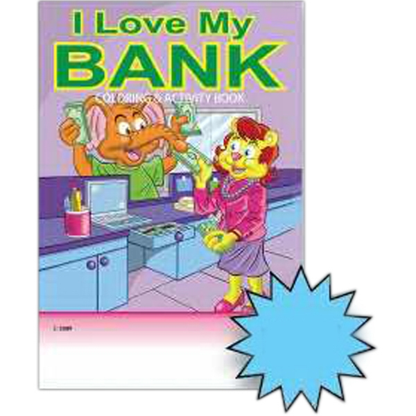 Banking Coloring Book