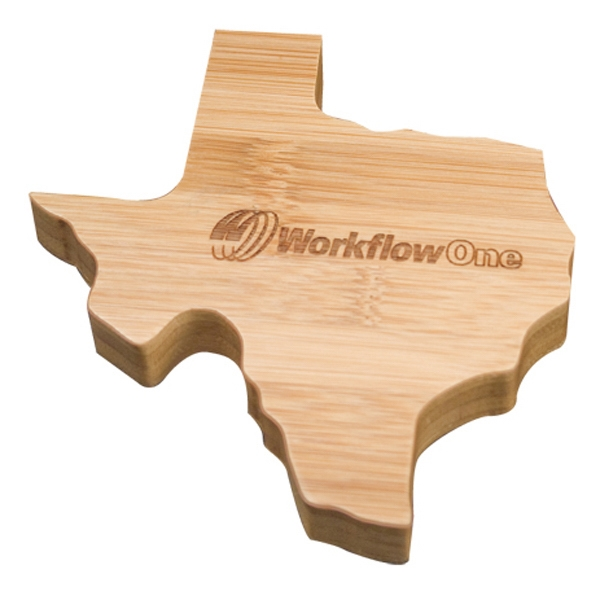 Bamboo paper weight - Texas