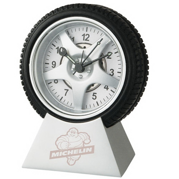 Wheel Clock with Base